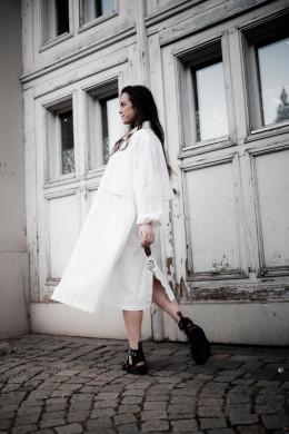 Gio coat 124 blanc