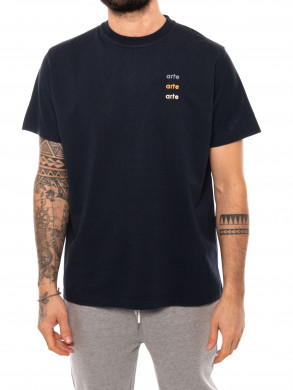 Tomi multi logo t-shirt navy