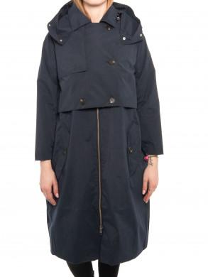 Kalmar trench coat dk navy