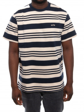 Tomi stripes t-shirt navy creme