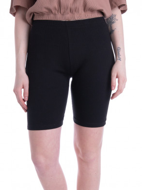 Melo rippe shorts black