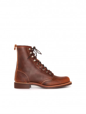 Silversmith boots copper rough
