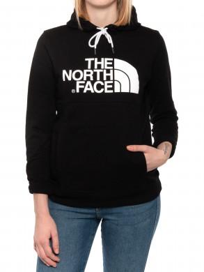 Womens peak hoodie black