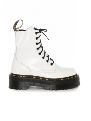 Jadon boots white smooth