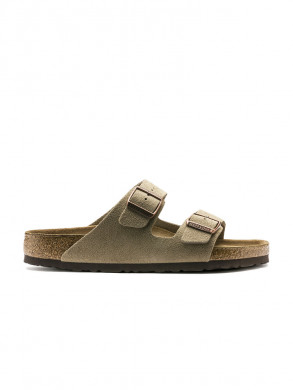 Arizona sandals suede taupe 46