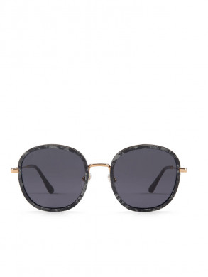 Amsterdam sunglasses large pearl blk