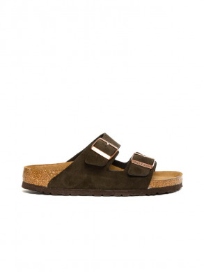 Arizona sandals suede mocca