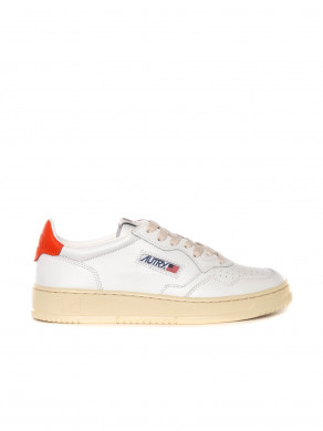 Medialist mens sneaker white orange
