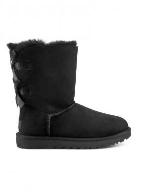 Bailey bow boots black