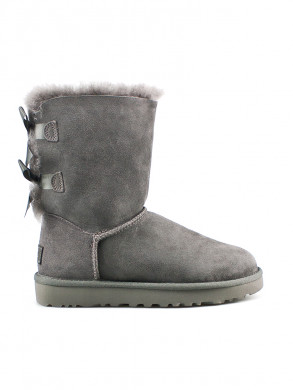 Bailey bow boots grey