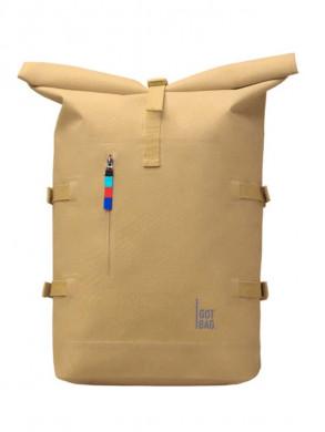 Rolltop backpack sand