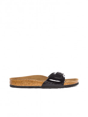 Madrid sandale black lack