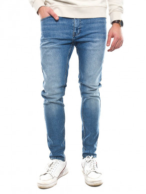 Clark jeans shaded mid blue