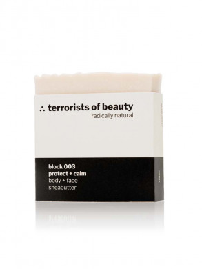 Block 003 soap sheabutter