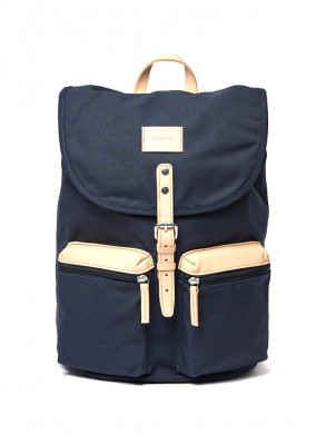 Roald grand backpack blue natural