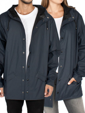 Rain jacket dark blue