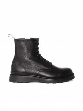 Lace up boots w3200 black
