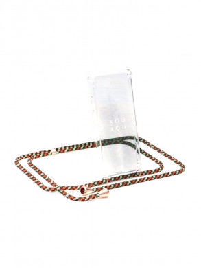 iPhone necklace 7p/8p camo copper
