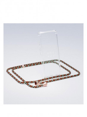 iPhone necklace 7/8 camo copper