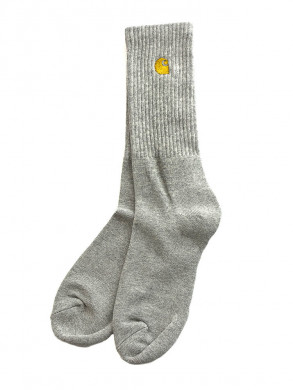 Chase socks grey gold
