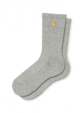 Chase socks v690 grey gold