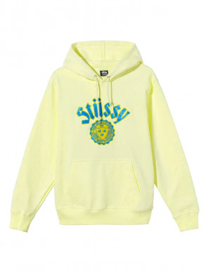 City seal app hoody pale yellow