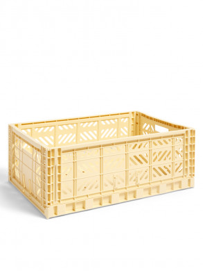 Colour crate L yellow