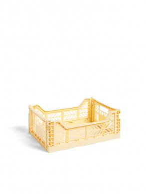Colour crate M light yellow