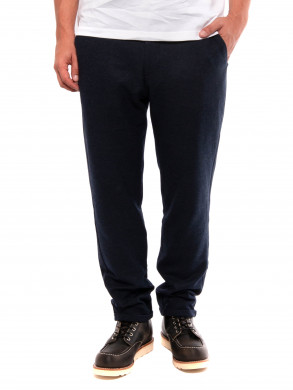Como wool pants dk navy