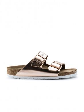 Arizona sandals metallic copper