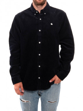 Madison cord shirt dark navy