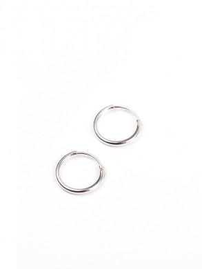 Creol earrings silver