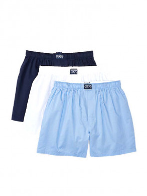 3Pack open boxer shorts multi