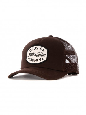 Vrod trucker cap brown