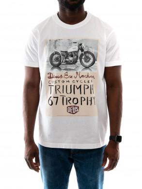 Triumph Trophy t-shirt white