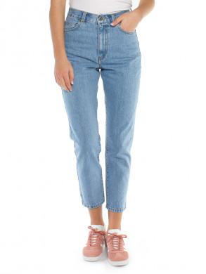 Nora mom jeans light retro blue
