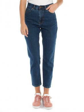 Nora mom jeans mid retro blue