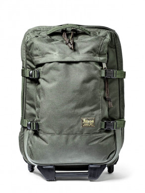 Dryden 2 wheels carry on bag otter green