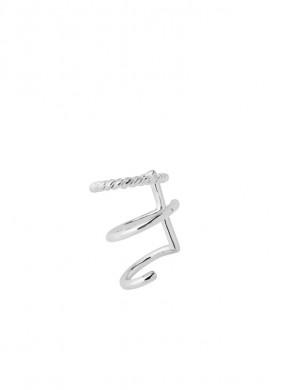 Sofia ear cuff silver
