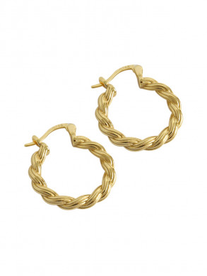Lille earrings gold