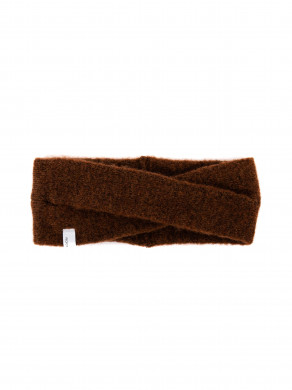 Evi headband brown