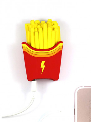 Fries powerbank red