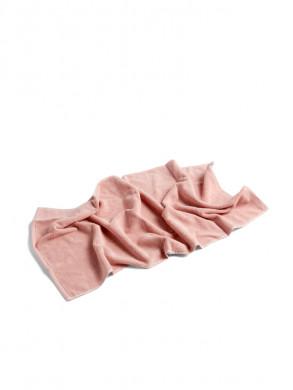 Frottee guest towel rose