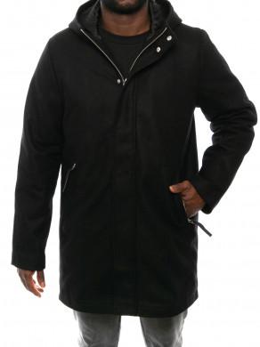 New snyder coat black