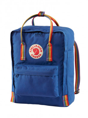 Kånken rainbow backpack blue