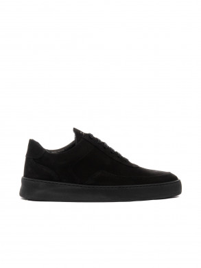 Low mondo shoe plain nardo nubuck all blac 44