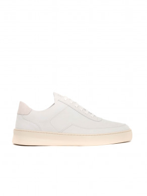 Low mondo shoe plain nardo white beige