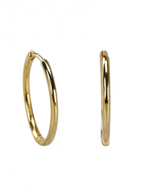 Medi hoops earrings gold