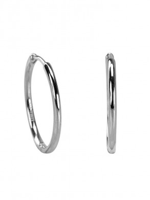 Medi hoops earrings silver