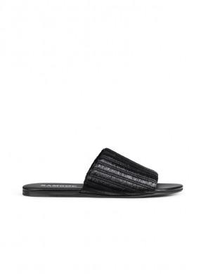 Mela sandal black